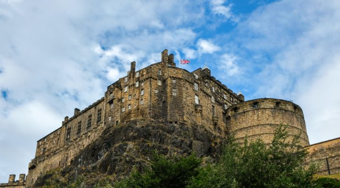 Edinburgh, A City of Knights and Maidens
