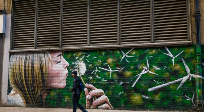 Photographing the Mural Trail in Glasgow