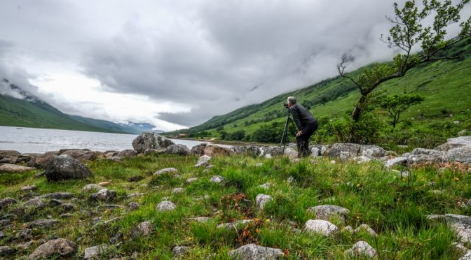 Glen Etive and The Dalness Lodge