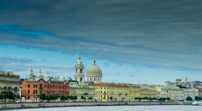 St. Petersburg and Peterhof Palace