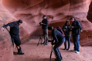 Shooting in the Canyon