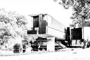Art Center Black and White