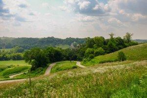 Decorah Trout River Bike Rail Meadow