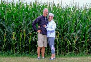 Portrait in Corn Field