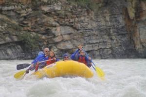 Jasper River Rafting