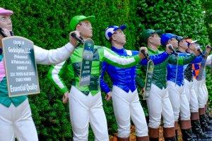Jockey Colors at Keeneland
