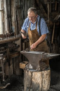 Acadian Blacksmith