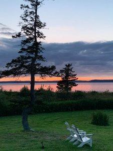 Bayside Cottage Sunset