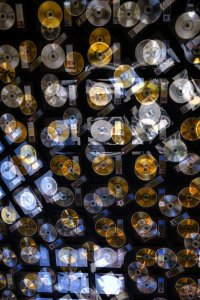 Abstract Gold Records-1