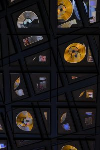 Abstract Gold Records-2