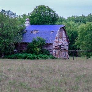 Blue Roof Barn