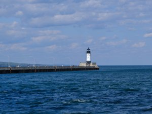 Lighthouse at Canal