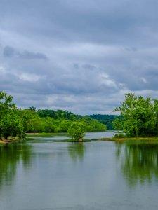 Black Lake Reflection