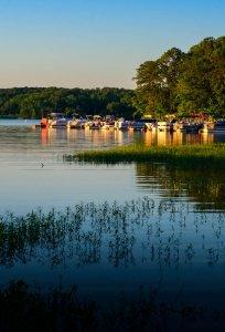 Buchanan Boats at Sunrise