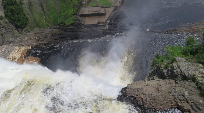 Ride to Montmorency Falls